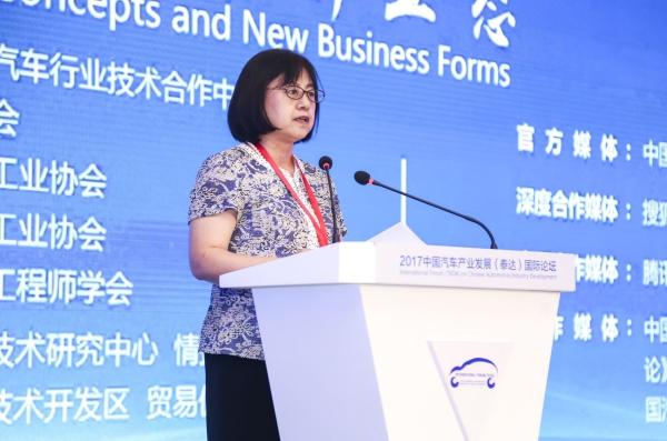 商务部市场体系建设司副巡视员胡剑萍