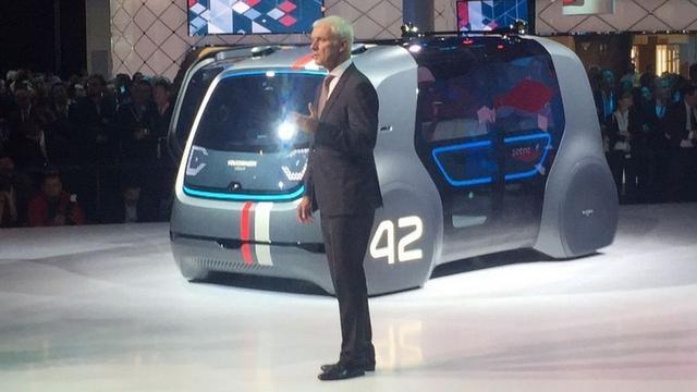 大众公布大规模电动车发展计划 共投资700亿欧元