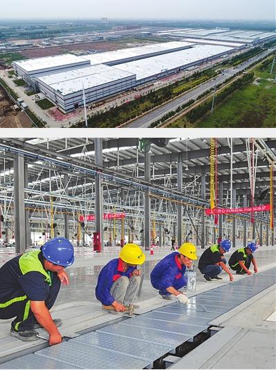 投资70亿元!天津银隆新能源项目加快建设
