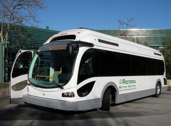 美国Proterra公司研发电动巴士 续航里程超1700公里创纪录