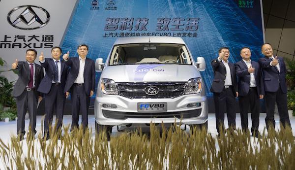 中国首款燃料电池商用车正式上市 享受百万补贴后仅售30万