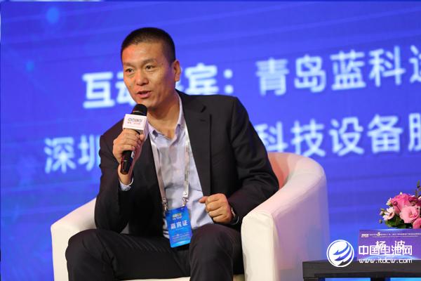 青岛蓝科途膜材料有限公司总经理杨波