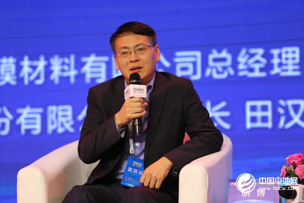 上海杉杉科技有限公司总经理胡博