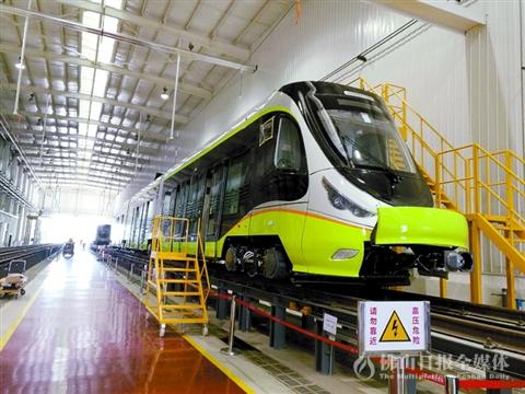 """""""高明造""""氢能源有轨电车明年再产4辆"""