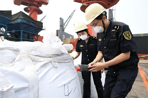 海关检测铜精矿