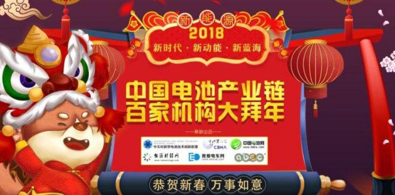 迎新春中国电池产业链百家机构大拜年