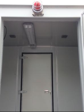 安裝有創為儲能站消防預警係統的科信15尺儲能站