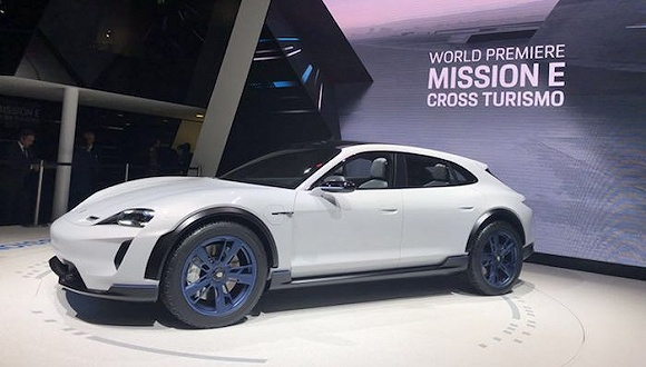 保时捷:2022年前投资60亿欧元研发电动车 中国成最大单一市场