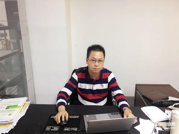 力星激光营销总监陈钢