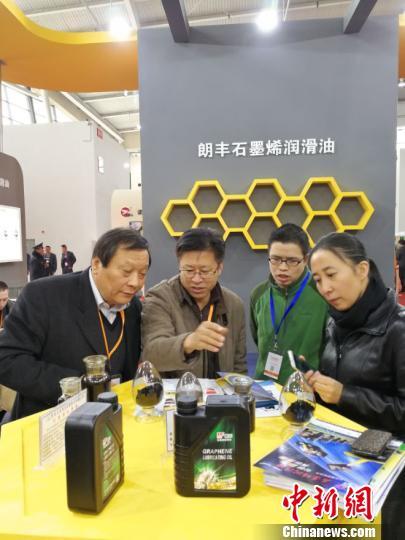 """""""龙江制造""""石墨烯润滑油在国内外市场供不应求"""