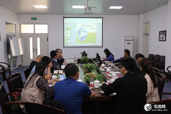 中国锂电新能源产业链调研团一行与锂动电源相关领导交流、座谈