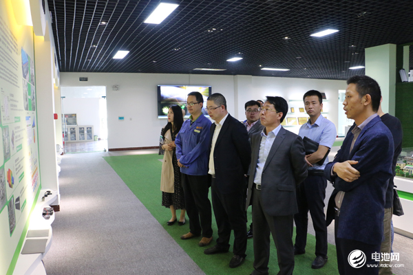 中国锂电新能源产业链调研团一行参观锂动电源