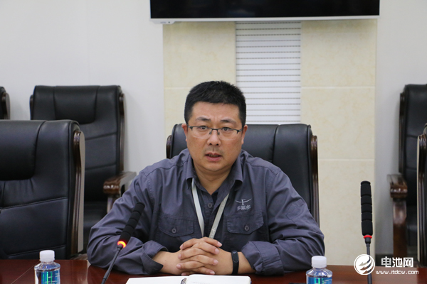 多氟多第三事业部总经理赵永锋