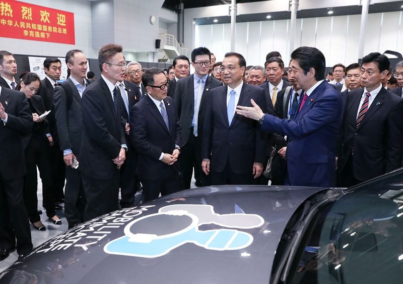 李克强总理参观丰田汽车厂区释放什么信号?