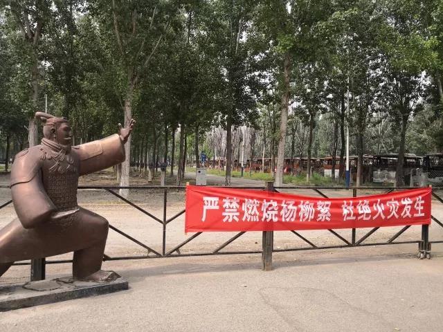 """北京蟹岛电动大巴大火一年后:烧毁车辆仍未挪走 游客当""""景点""""拍照"""