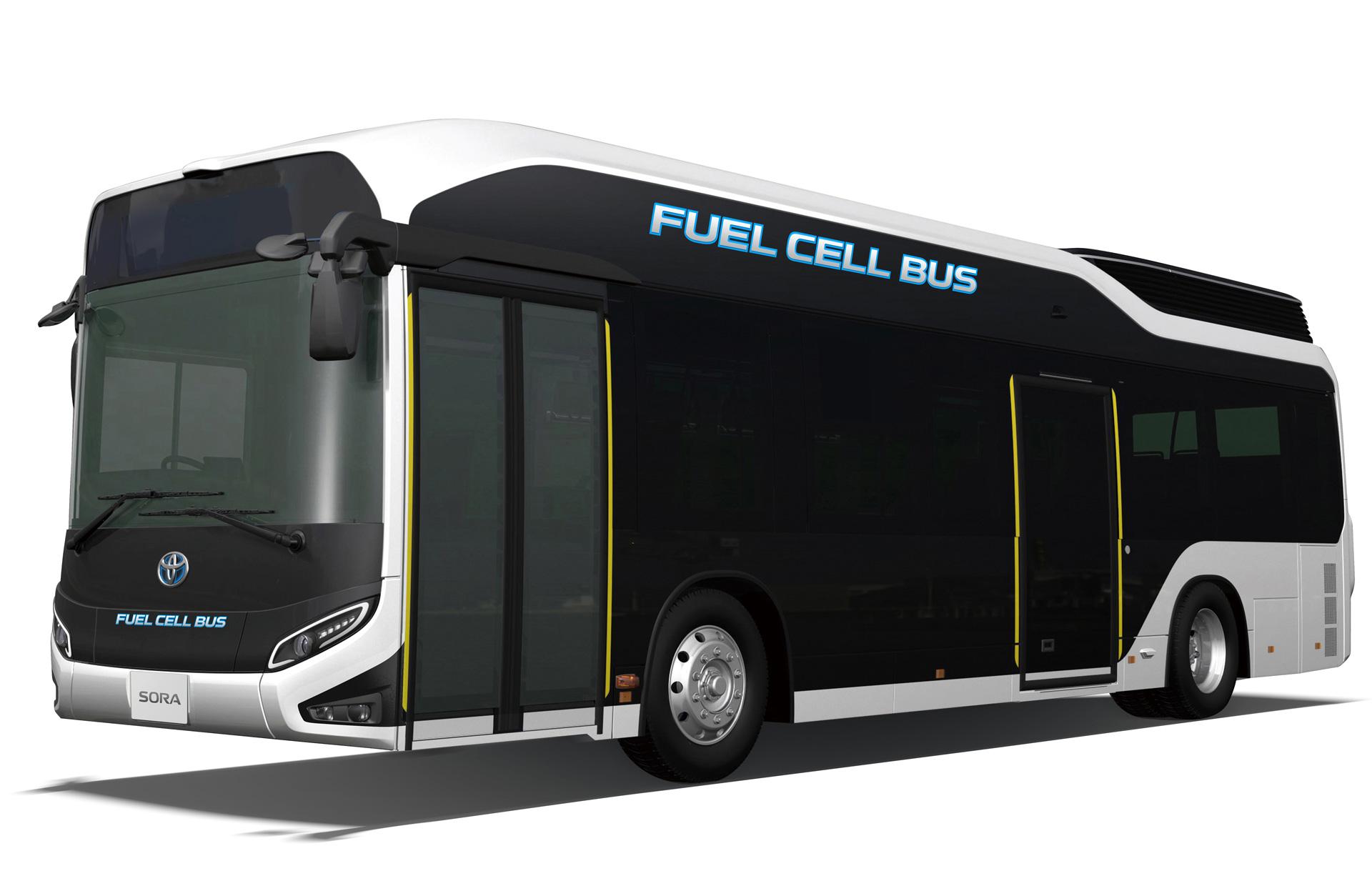 丰田氢燃料电池大巴Sora投产 2020年服役奥运会