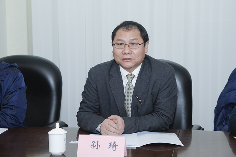 青岛乾运高科新材料股份有限公司董事长孙琦