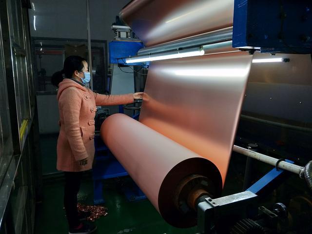 湖北中一科技:国产6微米铜箔稳定量产 迫使进口高端铜箔降价一半