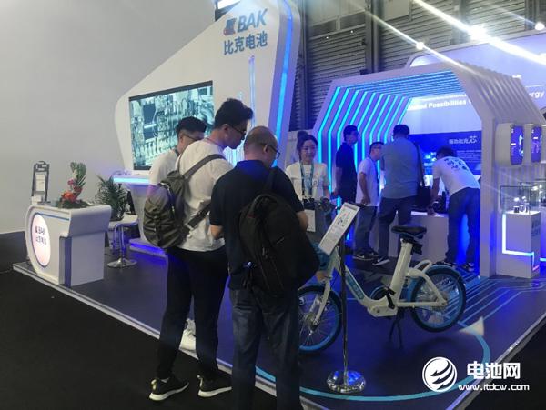比克电池亮相2018 CES Asia