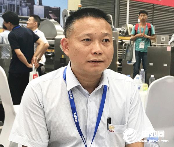 金银河锂电池装备事业部总经理李小云