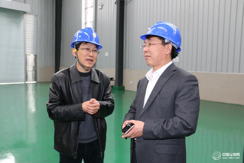 中关村新型电池技术创新联盟秘书长于清教一行调研星城石墨