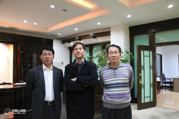 中关村新型电池技术创新联盟秘书长调研宁波容百锂电材料股份有限公司