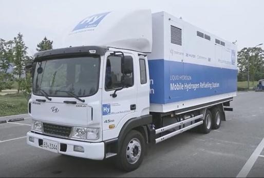 韩国投入全球首个可移动液态氢加氢站