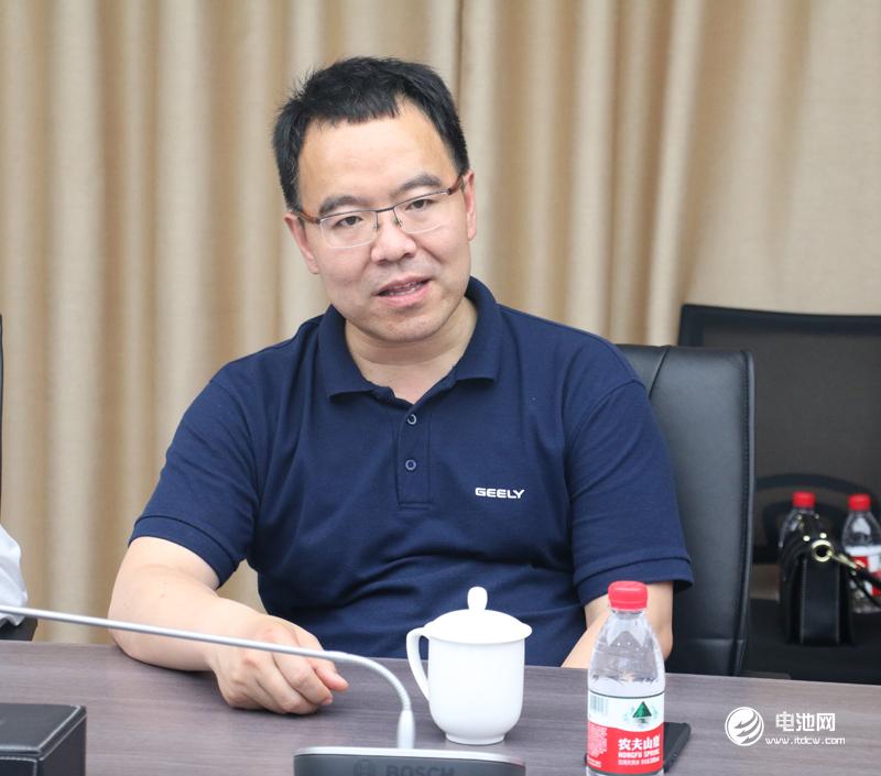 吉利控股集团副总裁杨学良