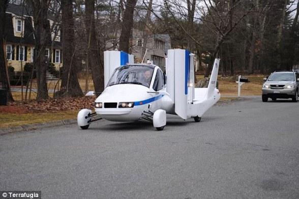 沃尔沃旗下飞行汽车2019年上市 为私人用户打造