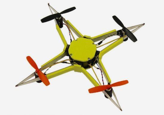 EPFL研发混合折纸无人机 可防止无人机零件撞坏