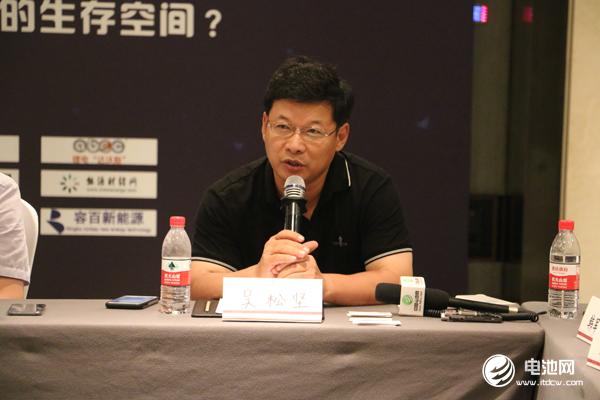 远东福斯特新能源江苏有限公司总经理/研究院院长/博士吴松坚
