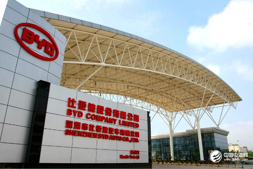 比亚迪:青海三元电池扩产项目预计明年底全部达产