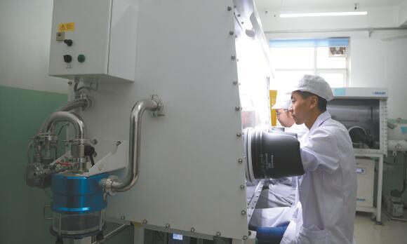 青海锂产业发展势头强劲 泰丰先行磷酸铁锂月产量达1500吨