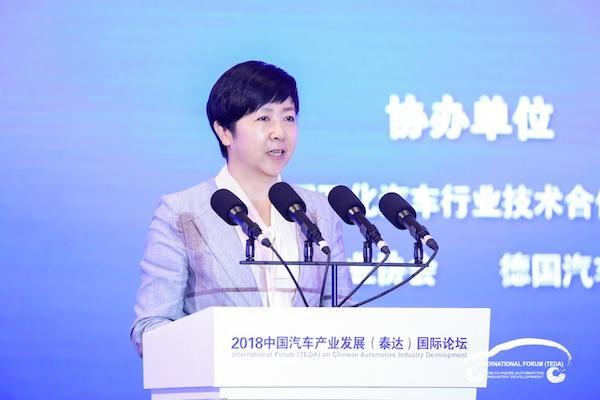 宋秋玲:新能源汽车产业存在三大风险和四个不足