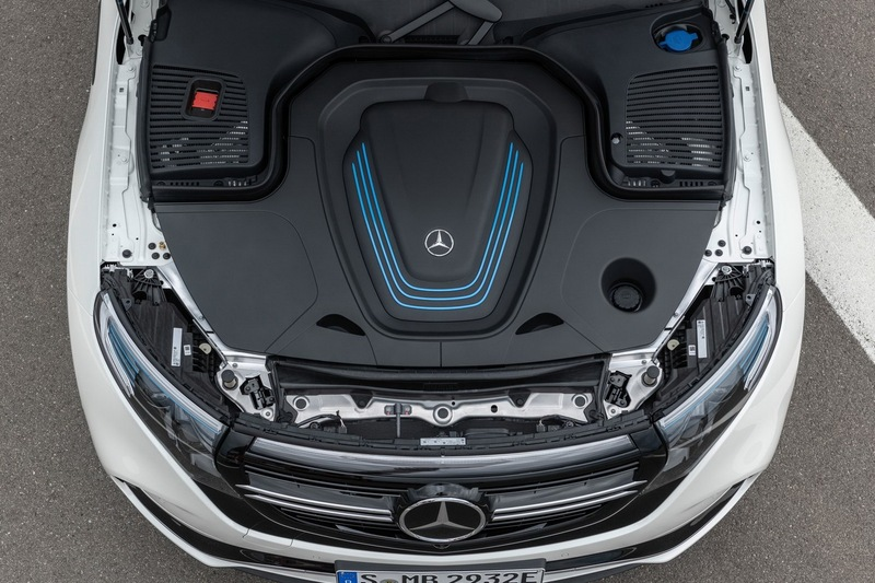 纯电动豪华中型SUV 奔驰EQC官图赏析