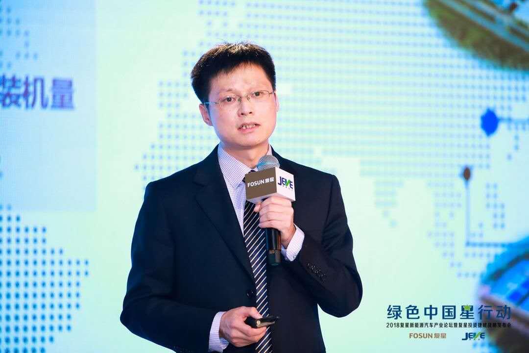捷威动力联合创始人、总经理王驰伟