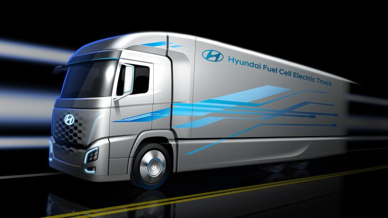 现代推氢燃料电池卡车 将于汉诺威商用车展亮相