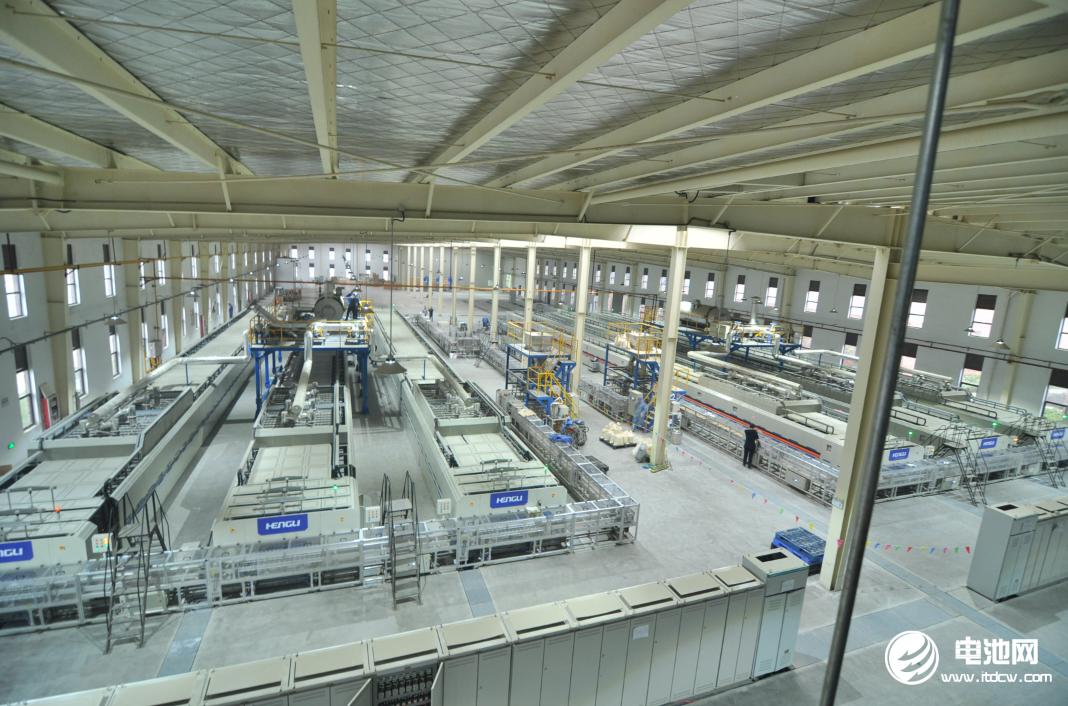 斯特兰四川自贡工厂正极材料生产车间