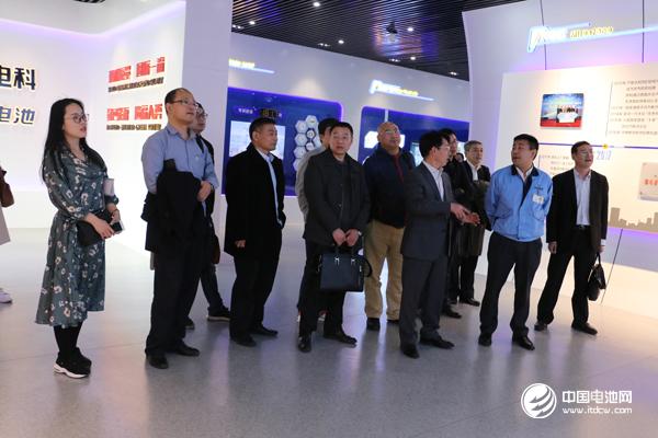 中国锂电新能源产业链调研团一行参观考察天津力神电池