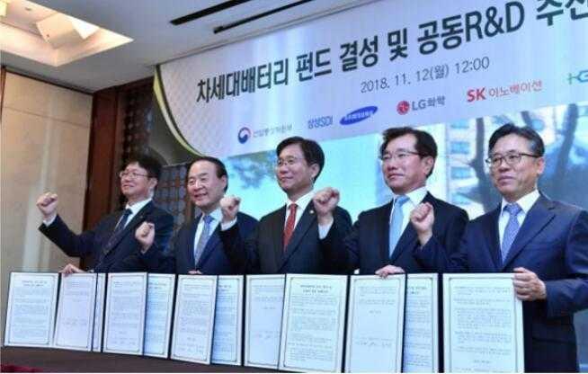韩国三大电池厂商联手开发核心技术 欲制霸新能源行业