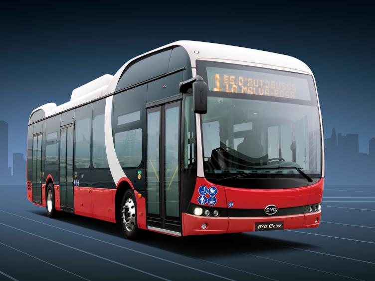 再辟新市场!比亚迪打造丹麦最大纯电动大巴车队