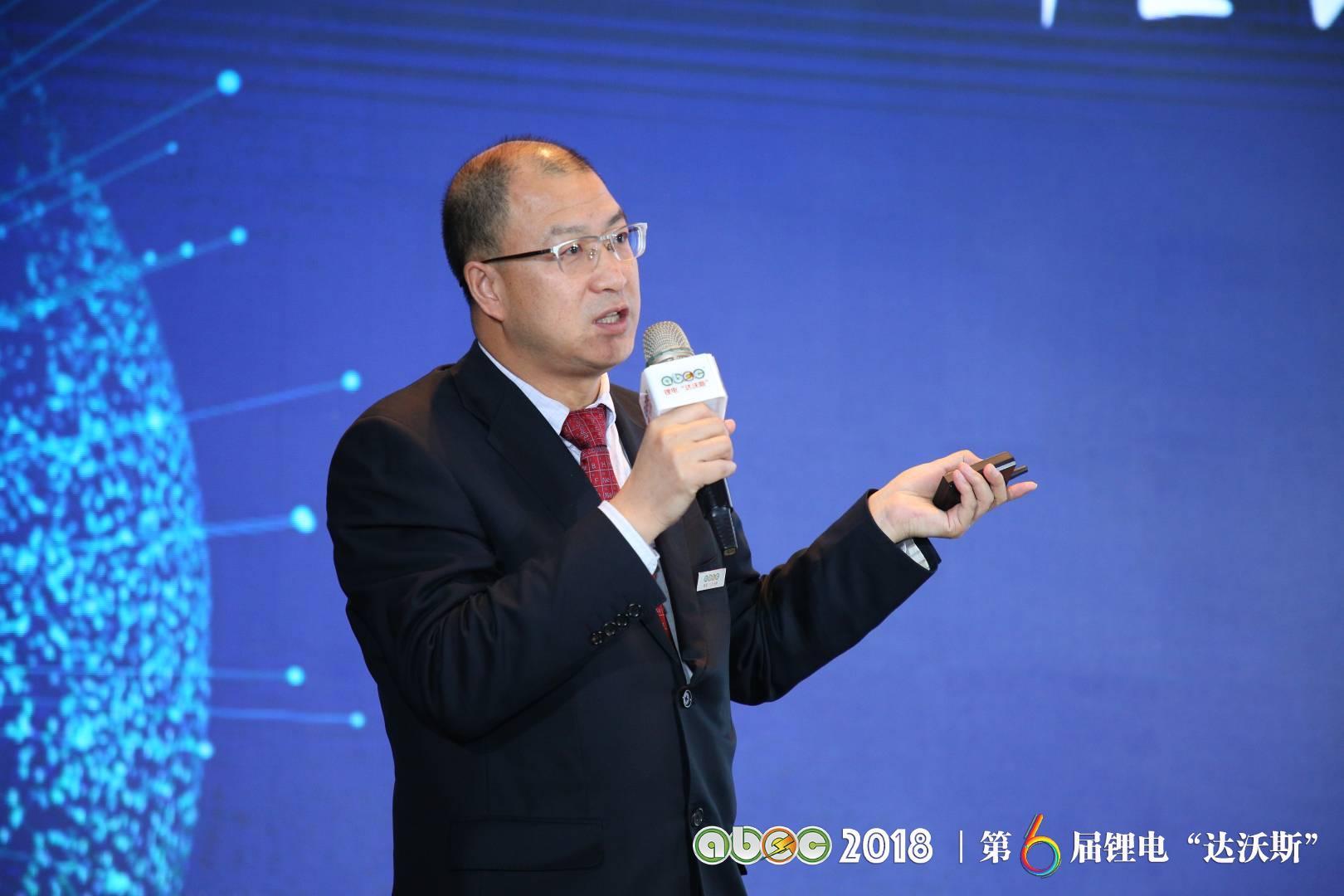 中国有色金属工业协会锂业分会秘书长张江峰