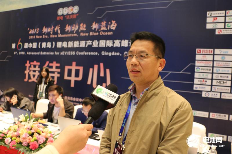 惠强新能源董事长王红兵