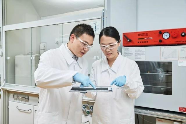 巴斯夫上海创新园研发高性能电池材料