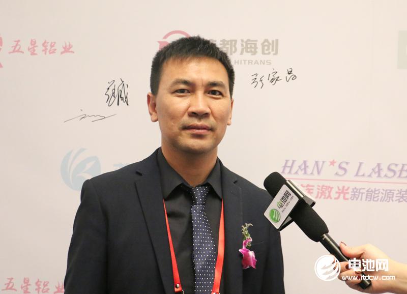 比克电池3C事业部总经理滕鑫