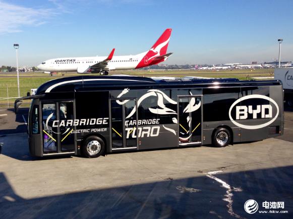 比亚迪获深圳机场首批纯电动摆渡车订单 助力航空业零排放