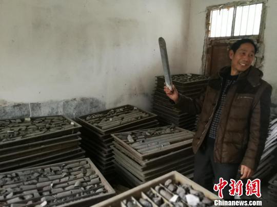 河南淅川境内发现大型石墨矿藏 石墨烯含量较高