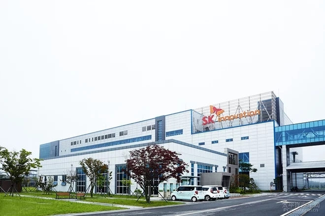 韩国SKI在美建动力电池工厂 产能翻十倍至55GWh