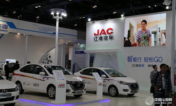 江淮汽车2018年新能源车销量63671辆 同比增长125%