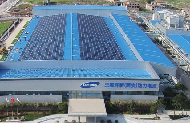 西安三星工厂峰谷电价调节项目